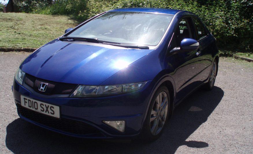 2010 10 Honda Civic 1.8 SI-T-I-VTEC