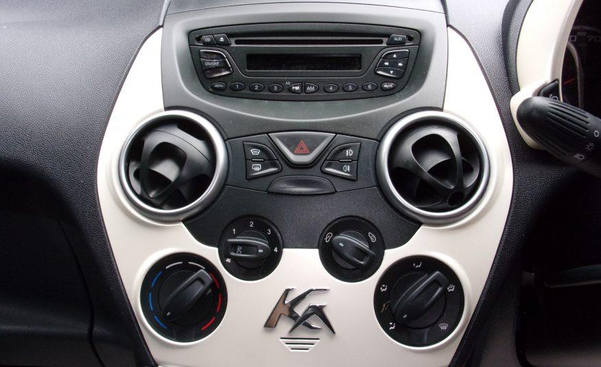 2010 10 Ford KA 1.2 Zetec