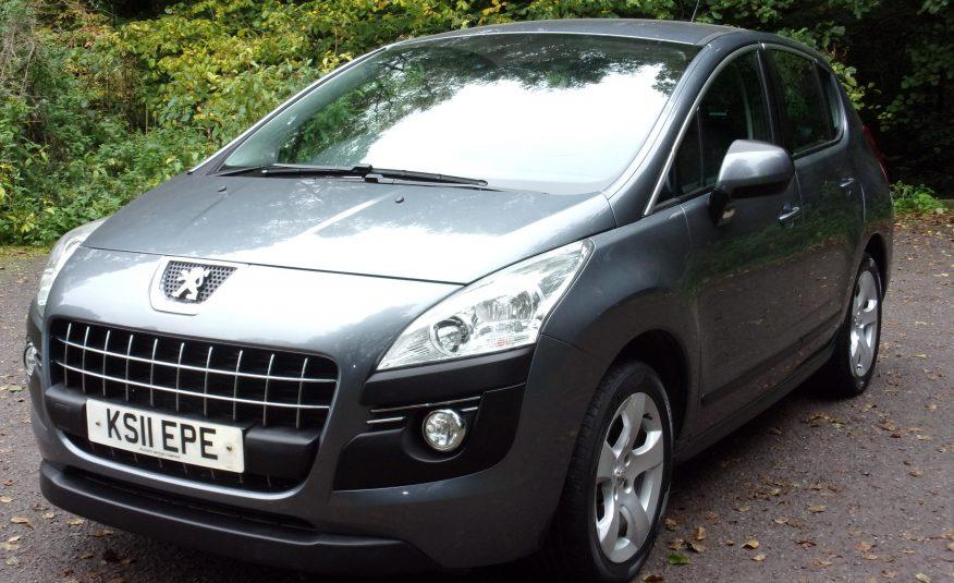 2011 11 Peugeot 3008 Sport 1.6 HDI SUV